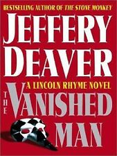 Lincoln Rhyme: The Vanished Man No. 5 by Jeffery Deaver (2003, Hardcover, Lar...