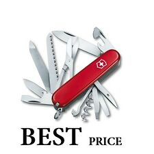 1.3763 VICTORINOX COMPACT SWISS ARMY RANGER RED POCKETKNIFE 21 TOOLS NEW !