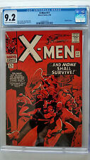 X-Men #17 CGC 9.2 NM-  Magneto Cameo   Original Owner Collection