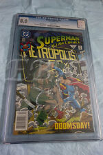 SUPERMAN IN ACTION COMICS  # 684 CGC GRADED 8.0 WHITE PAGES DOOMSDAY SUPERMAN