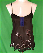 Bnwt Womens French Connection Strappy Top Blouse Xsmall UK8 RRP£45 New Black