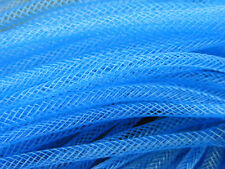 4mm SKINNY TUBULAR CRIN BLUE CYBERLOX DREADS 5 METRES GIFT WRAPPING
