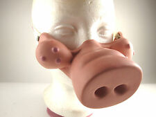 Rare WILL VINTON Claymation PIG NOSE Mask FRANKENSWINE Comedy of Horrors Vtg '91
