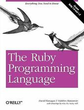 The Ruby Programming Language by David Flanagan, Yukihiro Matsumoto