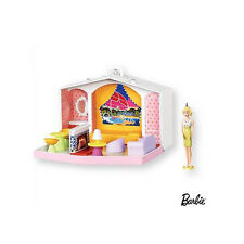 "2007 Hallmark ""BARBIE FAMILY DELUXE HOUSE"" Ornament - 1960's Barbie Doll - NIB"