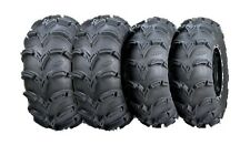 ITP MUD LITE XL ATV TIRE SET 26x9x12 and 26x10x12 (2 of each size) NEW MUDLITE