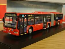 CMNL NORTHCORD FIRST LONDON MERCEDES CITARO G BENDY BUS MODEL UKBUS5106 1:76