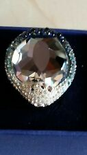 SWAROVSKI HYACINTH RING IN .... 55