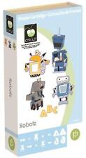 CRICUT *ROBOTZ* SHAPES & FONT CARTRIDGE *NEW* 3-D ROBOTS RETRO WALLE PARTY CARDS