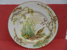 "Caverswall The Diary of a Edwardian Lady  10.5"" Collectors Plate - FEBRUARY"