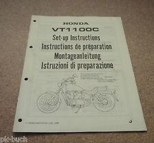 Montageanleitung Honda VT 1100 C Stand 1988