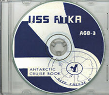 USS Atka AGB 3 1960 CRUISE BOOK RARE CD US Navy
