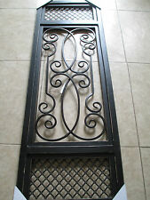 Disstressed Rustic Wood and Iron  Panel wall/door/window/ceiling light/grate