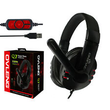 Over-Ear Stereo Gaming Headphone Headset Headband for PC Pro Gamer w/ Microphone
