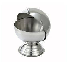 Winco SBR-30, 20-Ounce Stainless Steel Sugar Bowl with Roll Top