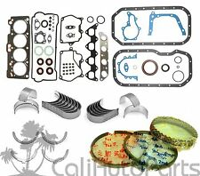FITS: 93-97 Toyota Corolla 1.6L 4AFE DOHC 16V Full Gasket Set *RE-RING KIT*