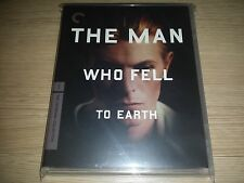 The Man Who Fell To Earth - Criterion Collection (Blu-ray) with Plastic case OOP