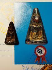 27#CERTIFICATE# Phra Nang Phaya TOP 5 BENJAPAKEE Thai Buddha Amulet Pendant