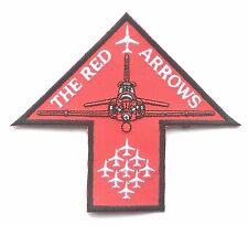 RAF Red Arrows Arrow Shaped Royal Air Force Military Embroidered Patch