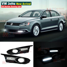 LED Daytime Running Light For VW Sagitar Jetta MK6 DRL 2011 2012 2013 11 12 13