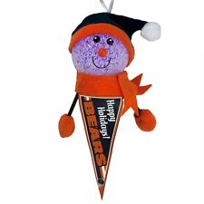 Chicago Bears - Light-Up Snowman Pennant Christmas Ornament