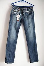 CLINK Jeans London  .28. Blue Jeans with Rhinestones. #1