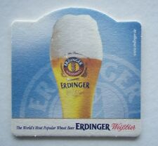 ERDINGER WEISSBRAU THE WORLD'S MOST POPULAR WHEAT BEER COASTER