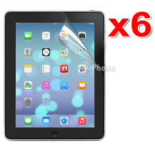 6x Premium LCD Clear Screen Protector for Apple New iPad 4 3 2 4G Film