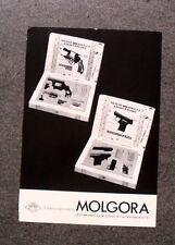 K882-Advertising Pubblicità-1984- MOLGORA FABBRICA GIOCATTOLI