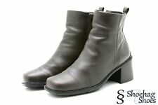Ecco Womens Fashion Ankle Boots Size 6 - 6.5 M Brown Leather
