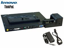 Lenovo ThinkPad Mini Dock Series 3 with USB 3.0 4337 + Genuine Lenovo AC Adapter