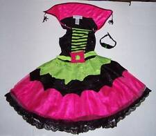 Princess Paradise Chasing Fireflies Spiderina Spider Witch Costume Girls Size 10