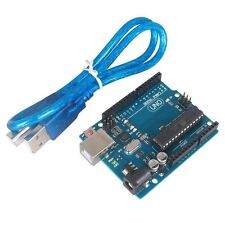 UNO R3 ATmega328P Development Board For Arduino Compatible+USB Cable NEW