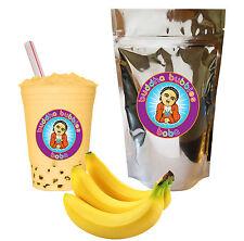 Banana Boba / Bubble Tea Powder by Buddha Bubbles Boba (10 Ounces | 283 Grams)