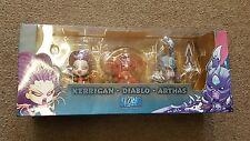 BlizzCon 2013 Souvenir Set Cute But Deadly Kerrigan Diablo Arthas Blizzard