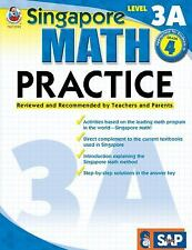 Singapore Math Practice, Level 3A, Grade 4 by