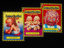 GARBAGE PAIL KIDS 2010 Flashback Series 1 - Bonus Set Lot B1 B2 B3 - 3 Cards FS1