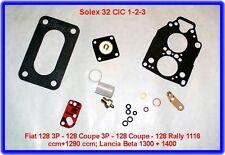Solex 32 CIC,Vergaser Rep.Satz,Fiat 128 C,Rally,Lancia