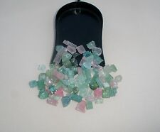 Tourmaline crystal rough gem mix parcel over 50 carats