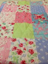 Large 150x200 Bedspread Throw Kids Quilt Single Double Patchwork Schabby Chic 😀