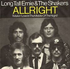 "LONG TALL ERNIE & THE SHAKERS - Allright (1976 VINYL SINGLE 7"")"