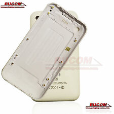 Für iPhone 3GS 16GB blanco Tapa de batería Parte trasera Backcover