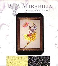 Mirabilia Counted Cross Stitch Chart with Bead Pack ~ PETAL FAIRY #82 Sale