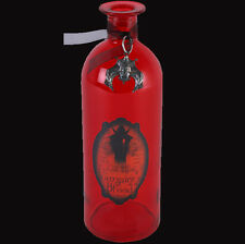 Red Dragon's Blood Glass Bottle. Halloween/Horror. Gothic Homeware. Dragon charm