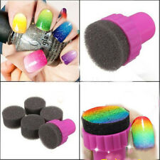 New Fashion High Quality Useful Nail Art Stamping Stamper Sponge Tool*