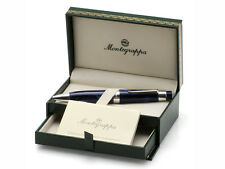 "Montegrappa Ballpoint Large Pen ""FORME"" Blue Celluloid MSRP: $200.00"