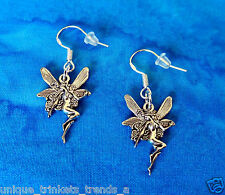 BUY 3 GET 1 FREE~SILVER FAIRY EARRINGS~MOTHERS DAY GIFT FOR HER MOM WIFE FRIEND