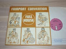 FAIRPORT CONVENTION LP - FULL HOUSE / 1970 UK FIRST PINK ISLAND PRESS in MINT