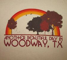 WOODWAY, TEXAS - Women's size M - Graphic T-Shirt