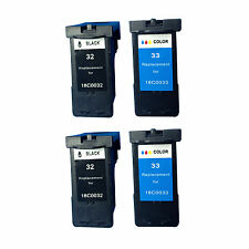 Reman Ink Cartridge for Lexmark X3350 X5250 X5260 X5270 X5450 X7170 (2 sets)
